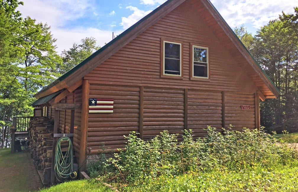 falling rock lodge munising vacation cabin rental