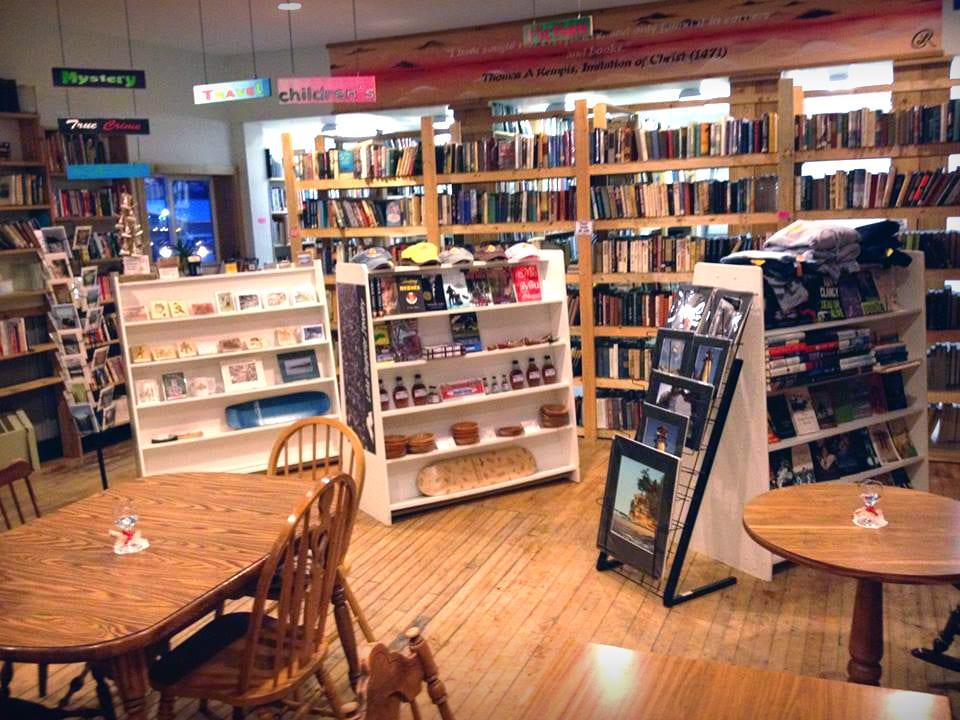Falling Rock Cafe Bookstore Munising Mi
