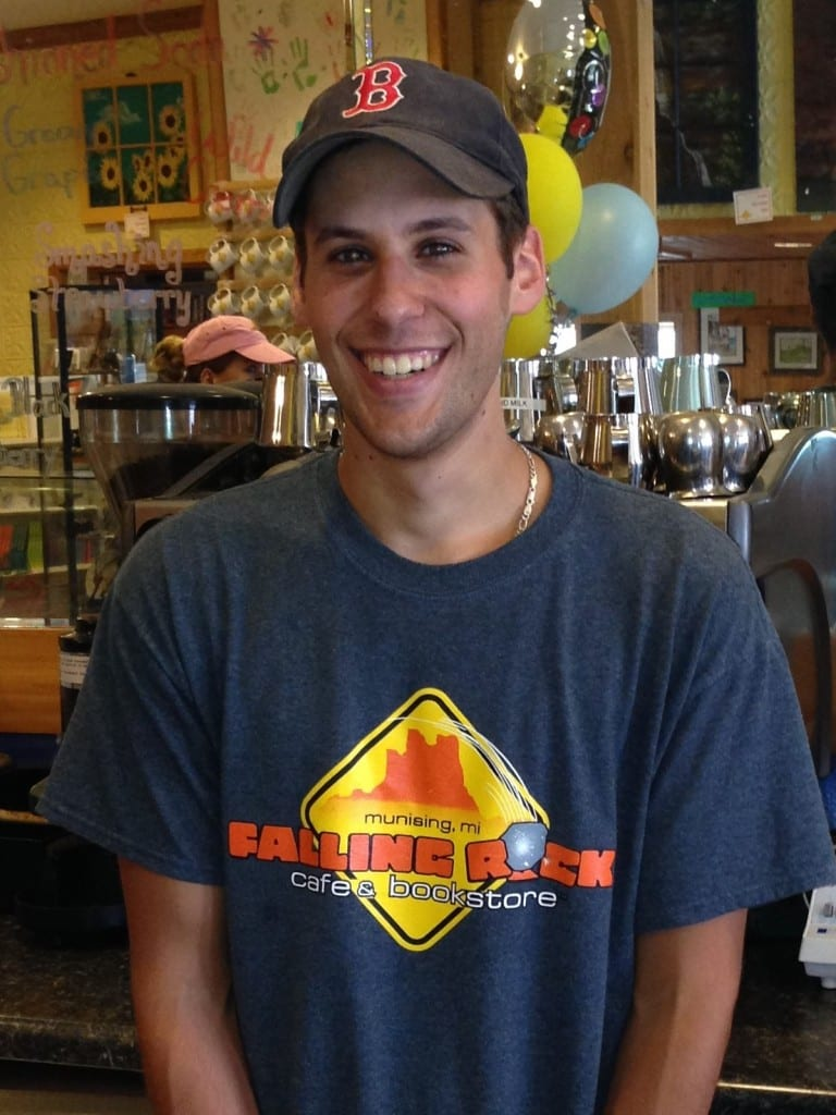 Falling Rock Café Manager Eli Kovar