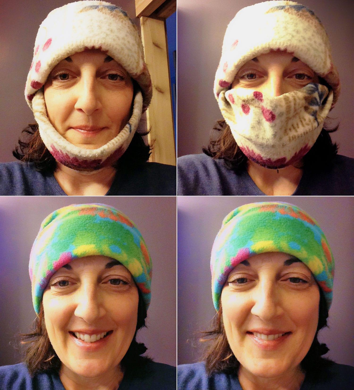 Designed in Upper Michigan Nancy wearing Yooper Chook