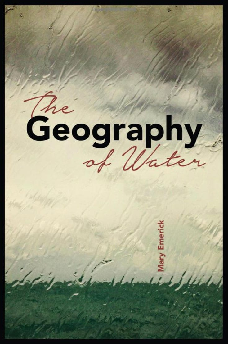 geography of water author mary emerick book cover alaska