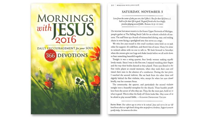 guideposts mornings with jesus inspirational content uplifting stories