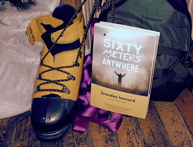 sixty meters to anywhere book signing brendan leonard michigan ice fest