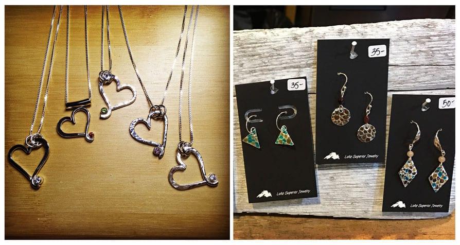 upper peninsula shop local valentines day gifts lake superior jewelry michigan