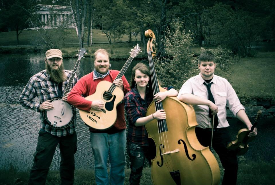 troy graham sparrowtree folk music upper peninsula bluegrass at falling rock cafe