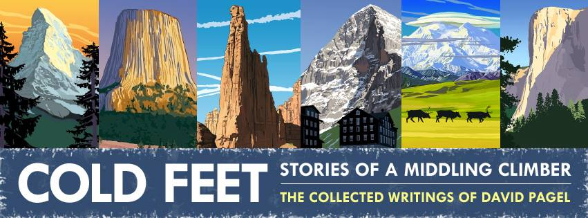 cold feet stories of a middling climber book signing author dave pagel michigan ice fest 2018 munising