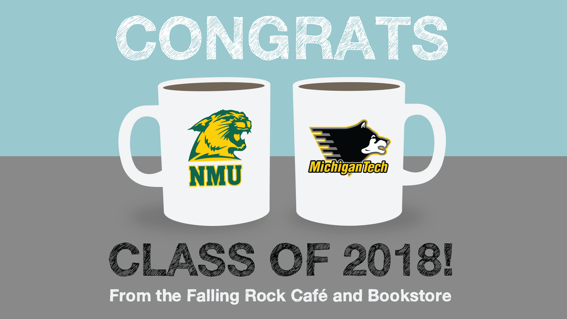 falling rock cafe and bookstore munising congratulations northern michigan university michigan tech graduates