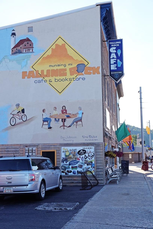 falling rock cafe upper peninsula coffee shop for sale munising